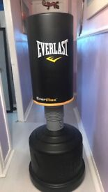 Everlast punch bag, 5foot, sand and/or water filled base