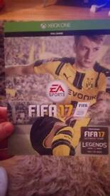 Fifa 17 game (on card)