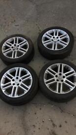 Vauxhall alloys 5x110