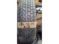 185-70-14 Corsa 87H 6mm Part Worn Tyre