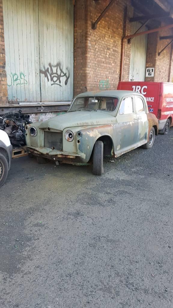Classic Car Barn Find Restoration Swap Sale