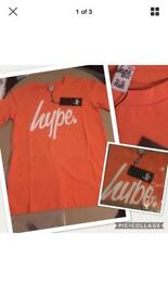 Boys hype T-shirt 11-12