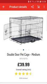Argos medium dog crate