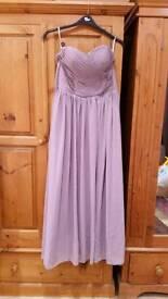 Bridesmaid evening dress size 8