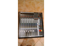 Sound Craft MFXi 8 Mixing Desk. 8 Channel Mixing Desk / Mixer