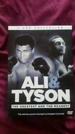 Ali & Tyson 4 DVD Collection
