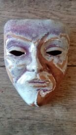 Studio Art Pottery Wall Mask