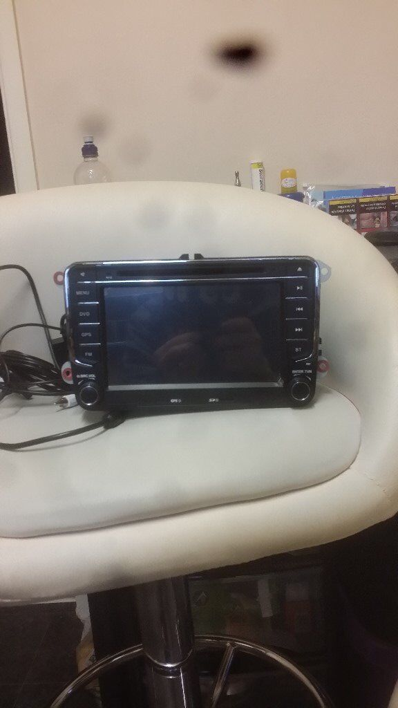 vw golf mk v car stereo