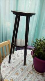 Wooden plant stand 26inch high
