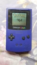 Purple Nintendo Gameboy colour