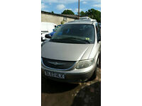Crysler grand voyager 2.5diesel. 2003reg breaking for parts