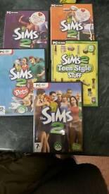 Sims 2 pc set