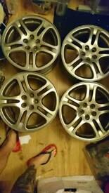 Alloy wheels subaru impreza