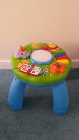 baby learning activity table Leap Frog