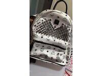 MCM Stark Backpack - never used - white