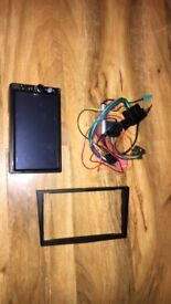 """7"""" touch screen bluetooth car radio with fitting parts for a Vauxhall Astra"""