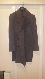 Brand NEW Next Mens Smart Pea Coat Overcoat, Trench coat RRP£145 only £55