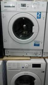 Integrated wwash machines Beko 7kg new never used offer sale £170