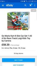 Mario kart 8 racing ideal gift. New in box