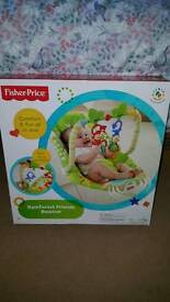 Fisher Price Rainforest Friends bouncy chair