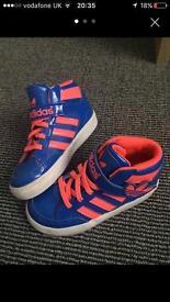 Childrens unisex Adidas Ortholite Hightops
