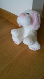 lovely baby girl soft toy