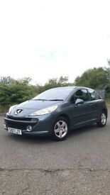 Peugeot 207 1.4 3 door hatchback 2007