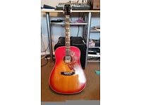 HONDO 2 HUMMINGBIRD, SOLD,SOLD,SOLD.GIBSON COPY,70s LAWSUIT