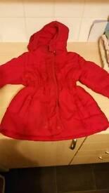 2 Girls coat 6/7 year old