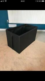 IKEA BLACK STORAGE BOXES £3 EACH WARDROBE STORAGE ACCESSORY