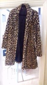 Leopard print coat for sale