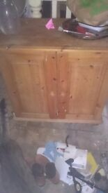 **Free Solid pine cabinet must go today**