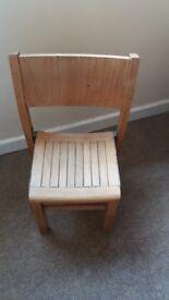 Pine School Chair