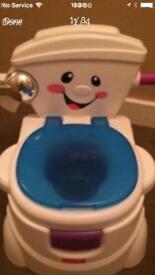 Fisher price singing potty/toilet