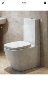 New complete toilet