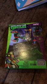 Mega blocks teenage mutant ninja turtles
