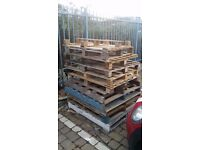 Free Pallets - great for firewood