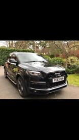 Audi Q7 s line plus. Black Pack. Plus extras