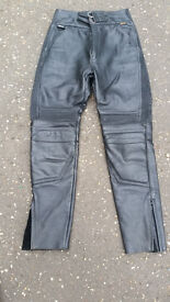 Leather Motorcycle Trousers . Excellent condition Hardly worn