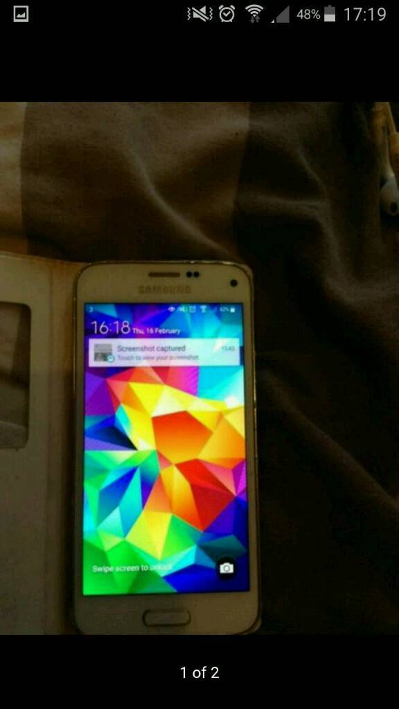Samsung galaxy s5 miniin Leicester, LeicestershireGumtree - Samsung galaxy s5 mini Unlocked to all networks Good condition Comes with leather flip case£80
