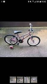 Raleigh child's bike Aprox 6-10years