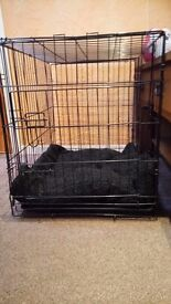 Dog Crate Foldable Medium Size