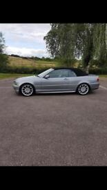 BMW 3 SERIES CONVERTIBLE M SPORT LOW MILEAGE!