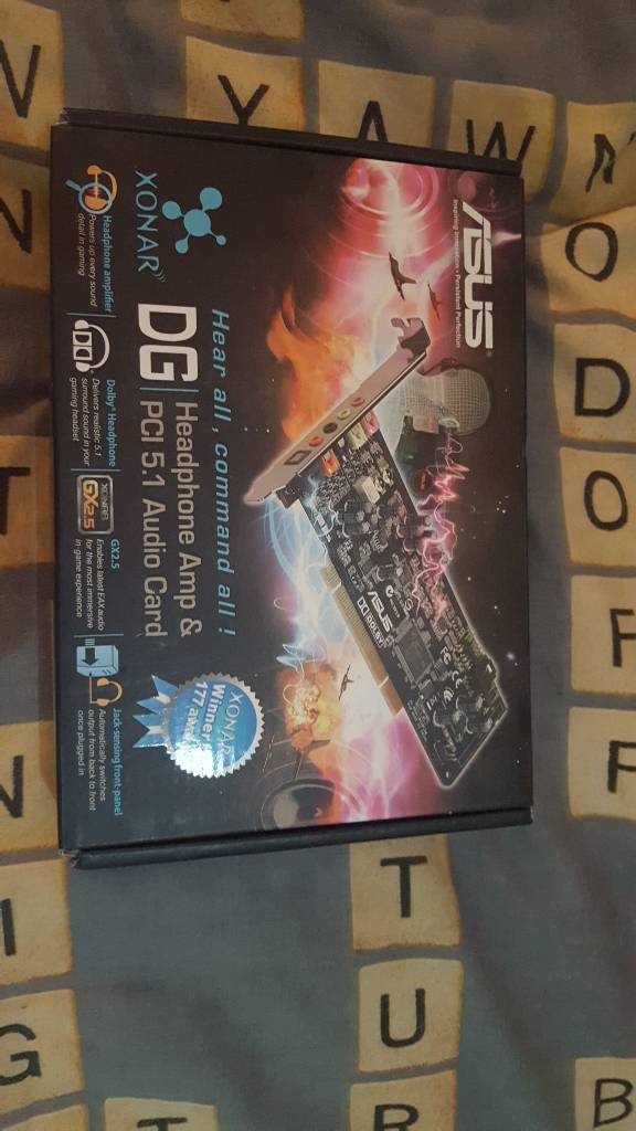 Asus Xonar DG 5.1 dolby audio Soundcard