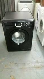 BEKO BLACK WASHING MACHINE