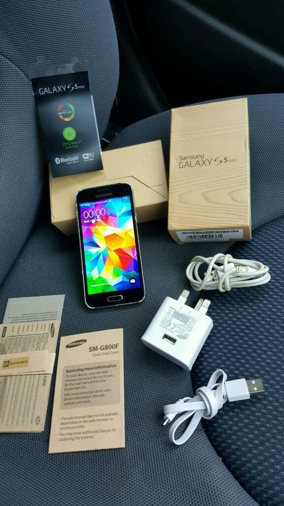 Samsung Galaxy S5 16gb mini black unlocked good used condition boxedin Bradford, West YorkshireGumtree - Samsung Galaxy S5 16gb mini in black colour,Unlocked to all networks works with any sim cards,Excellent working order without any faults and good used condition,No time waster pls. Thanks