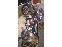 M2Racing 110 cc pit bike