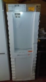 HOTPOINT Frost free 55cm fridge freezer new ex display