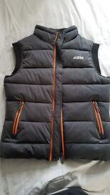 KTM body warmer medium