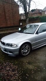 RARE BMW 330 CI CLUBSPORT WITH F1 FLAPPY PADDLE GEARBOX IN SILVER